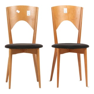 Calligaris Made in Italy Dining Chairs - a Pair For Sale