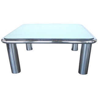 Charming Coffee Table in the Style of Marco Zanuso For Sale