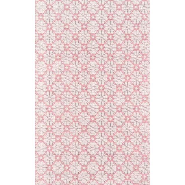 """Pink Madcap Cottage Lisbon Seville Pink Area Rug 3'6"""" X 5'6"""" For Sale - Image 8 of 8"""