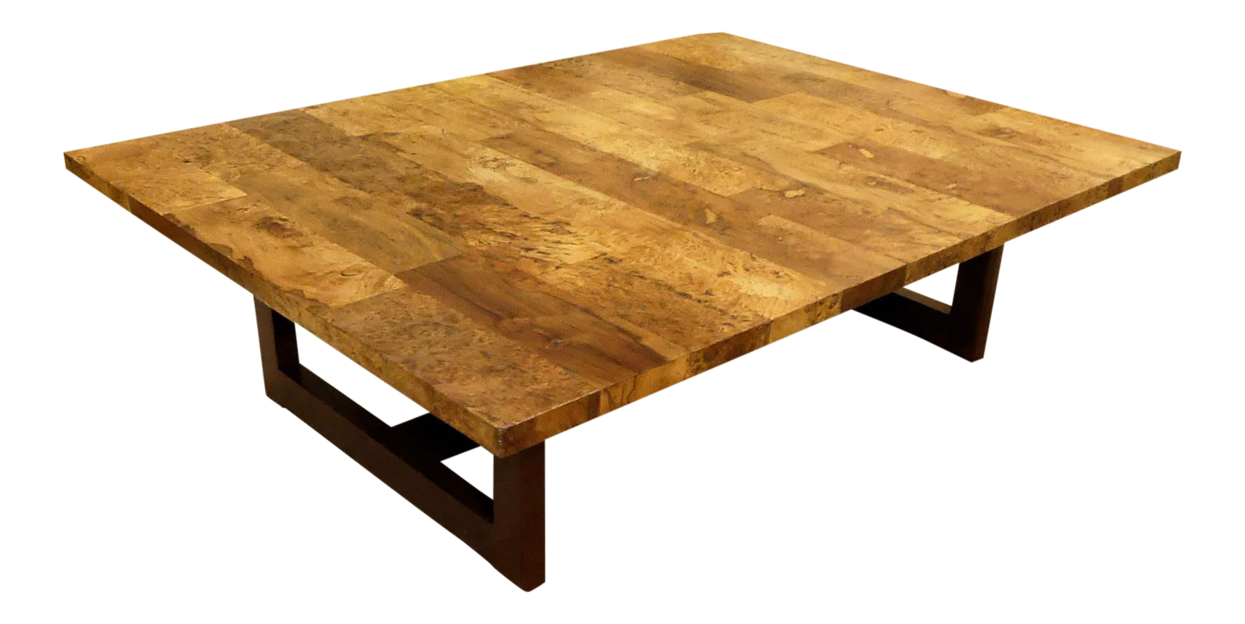 Picture of: Rustic Boho Chic Reclaimed Style Plank Top Wood Coffee Table Chairish