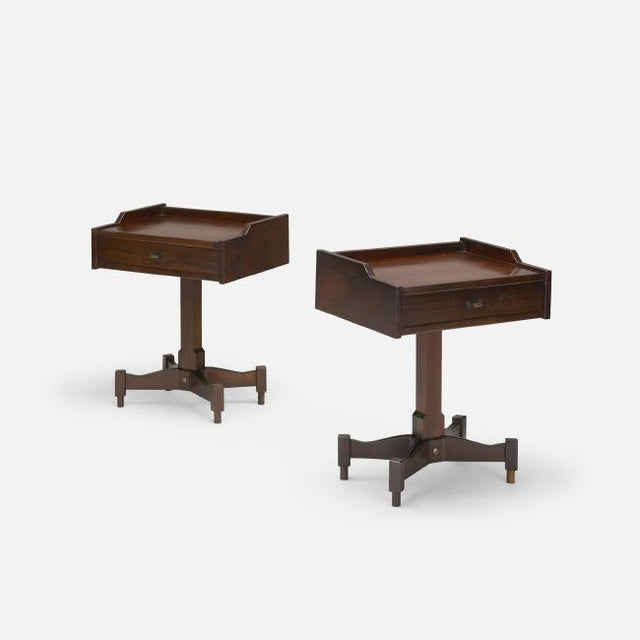Sormani 1960's Pair of Nightstands by Claudio Salocchi for Sormani For Sale - Image 4 of 4