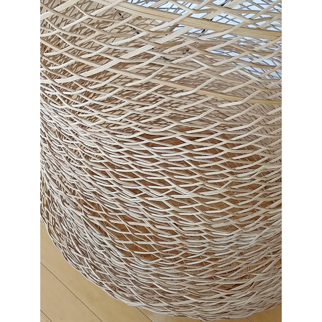 Contemporary Linda Kelly Contemporary Woven Basket Standing Floor Art Sculpture For Sale In Detroit - Image 6 of 7