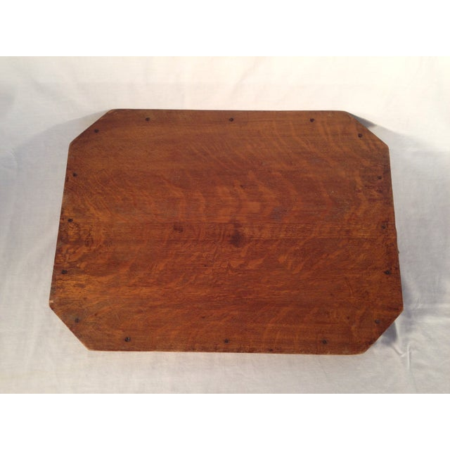 English Wood Serving Tray - Image 3 of 3