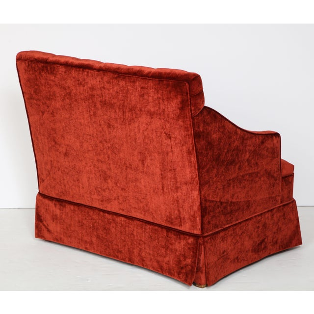 1960s Vintage Tufted High Back Settees- A Pair For Sale In New York - Image 6 of 8