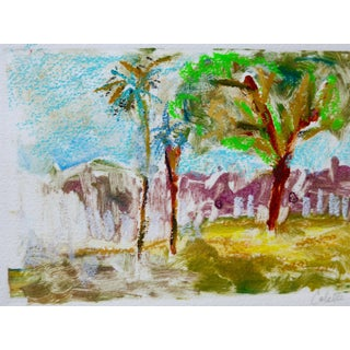 Abstract Drawing, California Garden For Sale