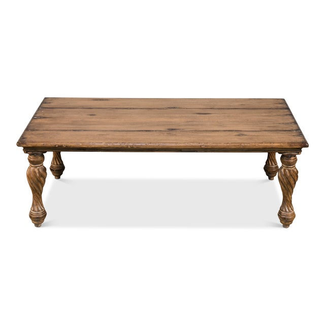 Traditional Sarreid Renaissance Coffee Table For Sale - Image 3 of 6