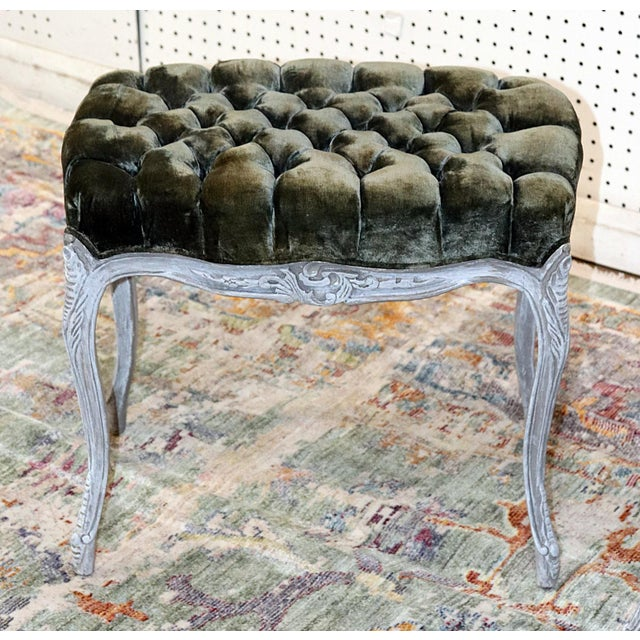 Vintage Louis XV Style Stools - a Pair For Sale In Philadelphia - Image 6 of 11