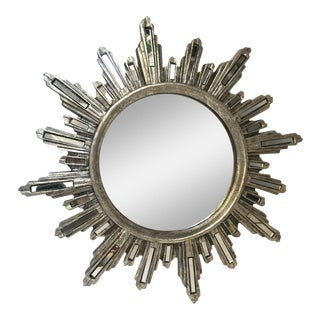 Glam Silver Starburst Mirror