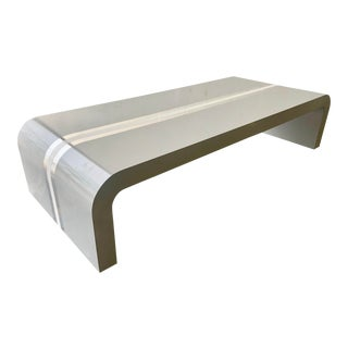 Large Pierre Cardin Style Coffee Table For Sale