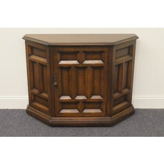 20th Century Traditional Century Furniture Cortez Collection English Oak Style Console Cabinet Preview