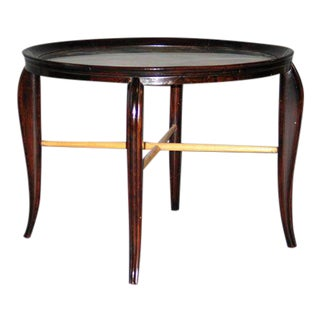 Italian 1940's Cocktail / Side Table by Guglielmo Ulrich For Sale