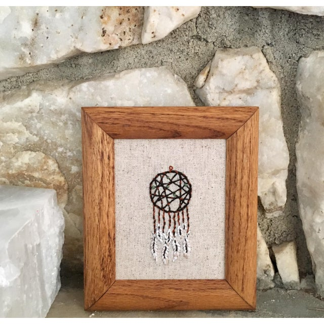 Dream Catcher Framed Embroidery - Image 2 of 5