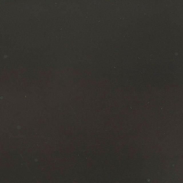 Modern Olsen Metal Table in Black For Sale - Image 3 of 4