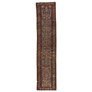 """Vintage Persian Rug, 3'5"""" X 15'05"""" For Sale"""