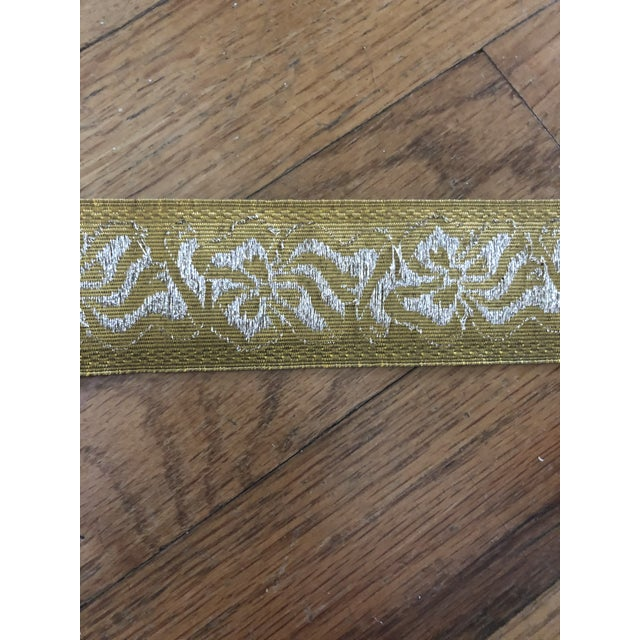 Samuel & Sons Metallic Trim - 4 Yards For Sale In New York - Image 6 of 8