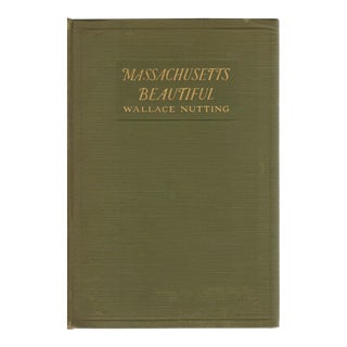 "1923 ""Massachusetts Beautiful"" Coffee Table Book For Sale"