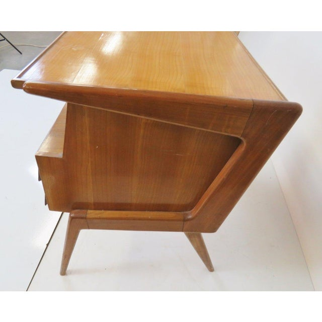 1950's Italian Desk in the Manner of Ponti - Image 4 of 4