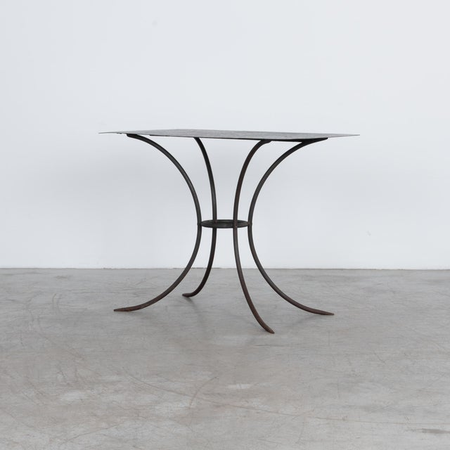 A stylish metal garden table, ready for a beautiful Spring brunch, a tray of sprightly seedlings or the fall harvest. This...