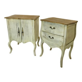 Rustic Nightstands - a Pair For Sale