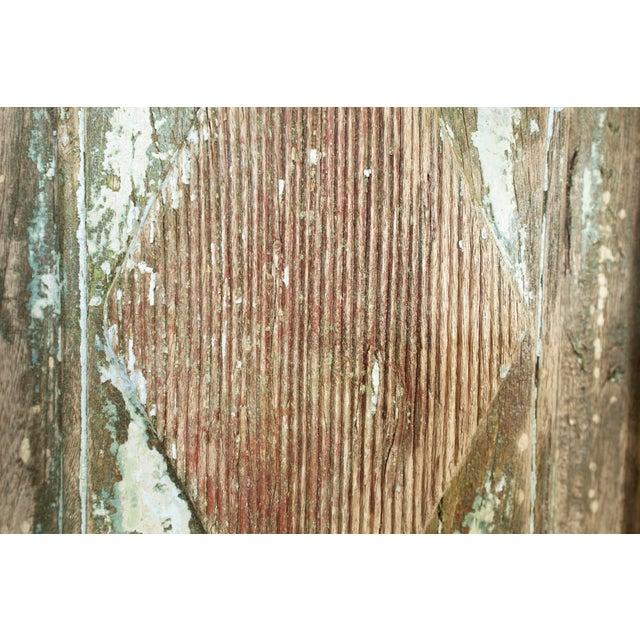 Metal Old Jodhpur Carved Entrance Doors For Sale - Image 7 of 8