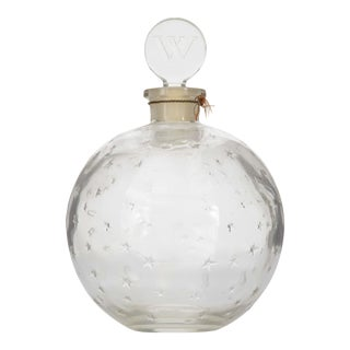 French Art Deco Ball-Shaped Glass For Sale