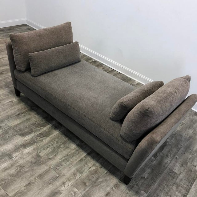 Modern Marlowe Daybed Chaise Lounge Sofa For Sale - Image 3 of 4