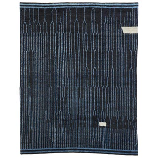 Contemporary Moroccan Inspired Area Rug - 10′3″ × 13′2″ For Sale