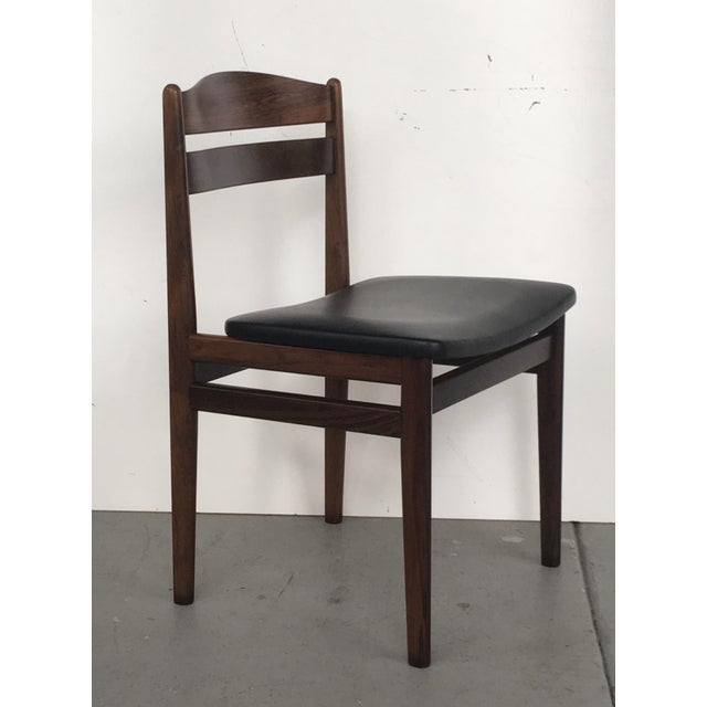 Danish Modern Rosewood Dining Chairs - Set of 6 - Image 5 of 8