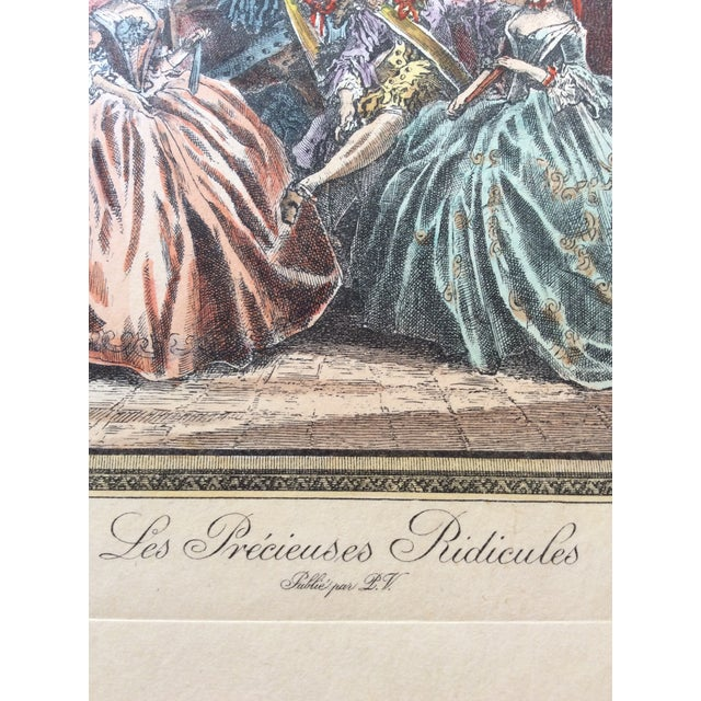 Late 18th Century Antique Francois Boucher French Engraving Print For Sale - Image 4 of 5