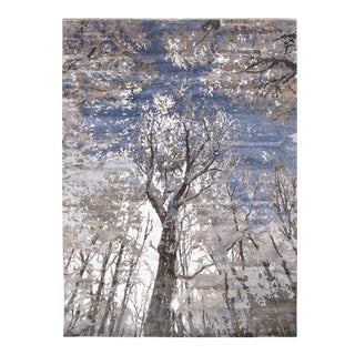 Pasargad Bamboo Silk Modern Rug - 9' × 12' For Sale
