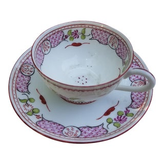 T&v Limoges Cocoa Cups and Saucers = Service for 8 For Sale