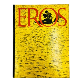 Vintage Eros Coffee Table Book For Sale