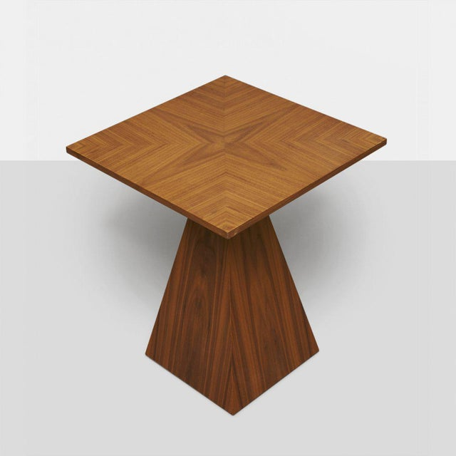 Mid-Century Modern Harvey Probber Pyramid Occasional Table For Sale - Image 3 of 4