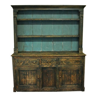 19th Century Country Style Irish Dresser For Sale