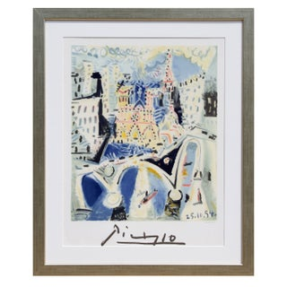Pablo Picasso - Notre Dame Estate Litho Poster