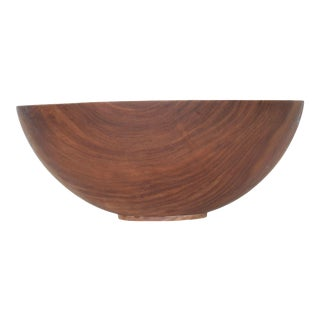 Dale Larson Pacific Madrone Wood Turned Bowl Mid Century For Sale