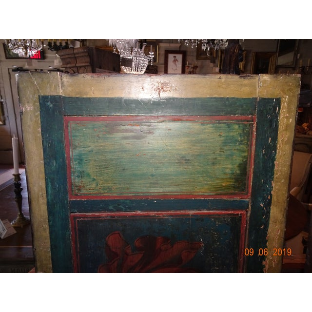 Early 19th Century 19th Century Italian Painted Wood Panels For Sale - Image 5 of 13