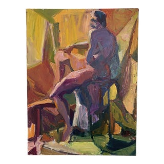 Barbara Yeterian Oil on Canvas Y117 For Sale