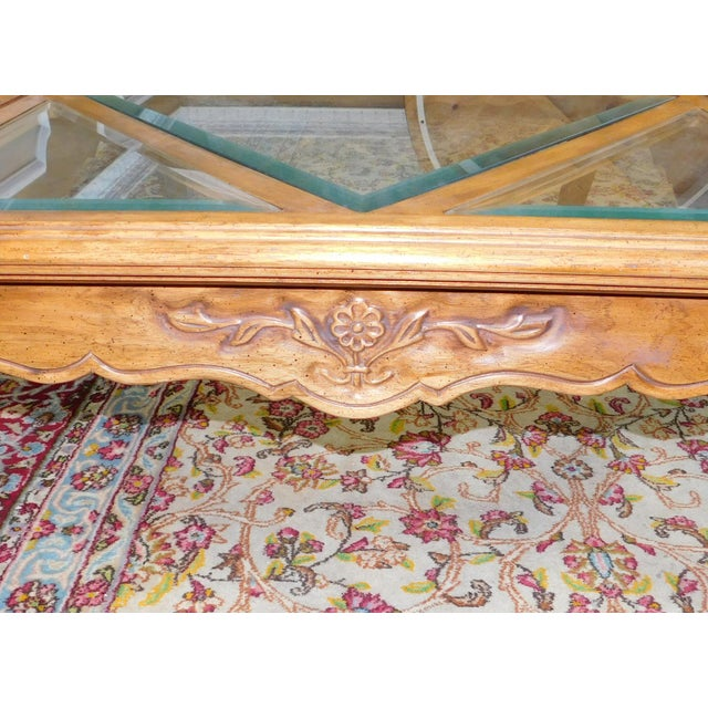 Drexel Heritage Cabernet Collection Coffee Table For Sale - Image 7 of 9