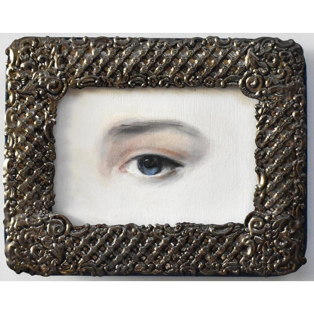 Contemporary Lover's Eye Painting by Susannah Carson For Sale In San Francisco - Image 6 of 6