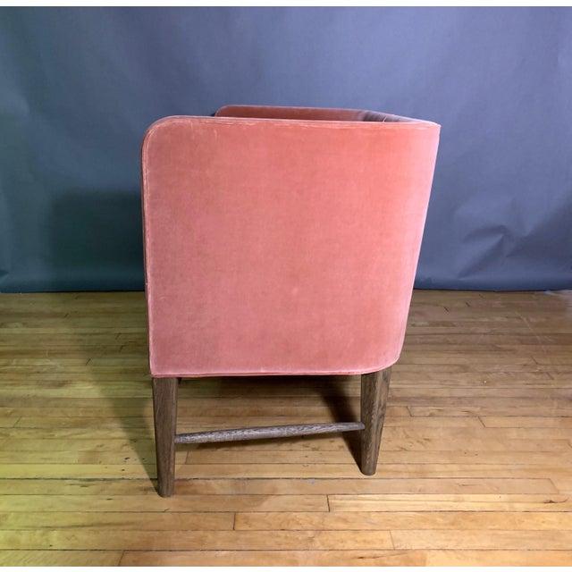 Pink Arne Jacobsen, Flemming Lassen 2-Seat Mayor Sofa For Sale - Image 8 of 10