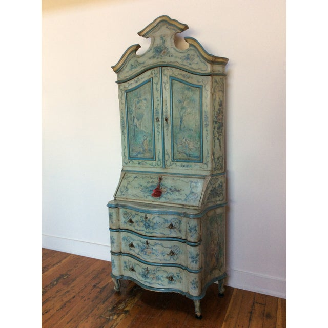 Antique Venetian Secretary - Image 2 of 9