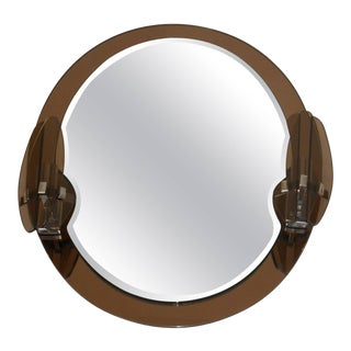 Oval Mirror by Lupi Cristal Luxor For Sale