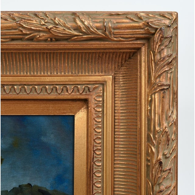 Giltwood Carved Frame Artwork Oil Painting Still Life For Sale In New York - Image 6 of 9