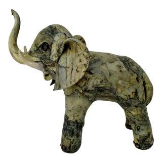 Papier-Mâché Elephant Figure For Sale