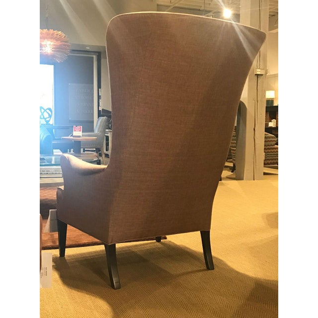 Modern Hickory Chair Modern Bird Wing Chair For Sale - Image 3 of 7