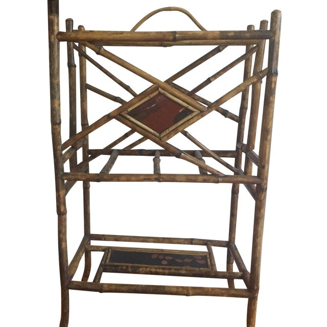 1880s French Bamboo Umbrella Stand - Image 1 of 7