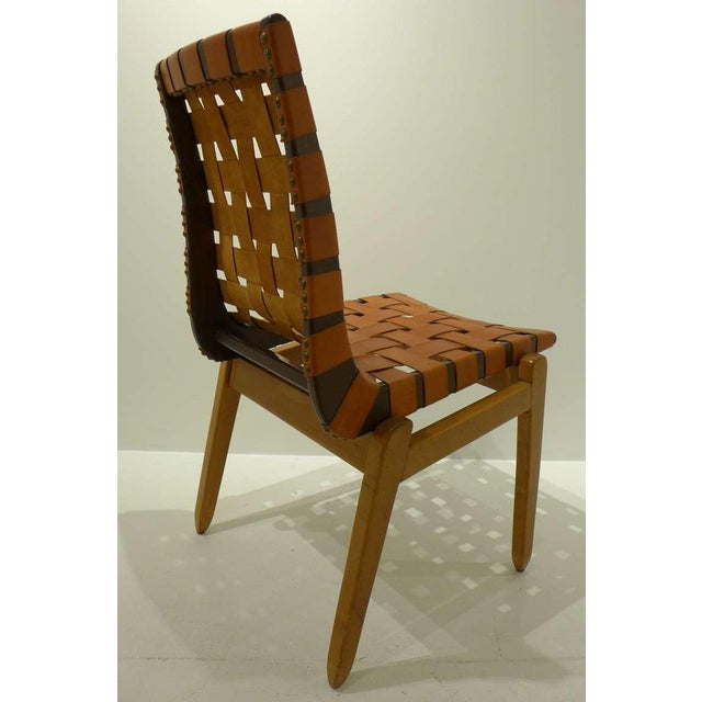 Animal Skin Set of Six Abel Sorenson Chairs for Knoll For Sale - Image 7 of 9