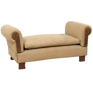 French Lit De Jour 'Daybed' Circa 1920s-1930s With Nice Rounded Arms