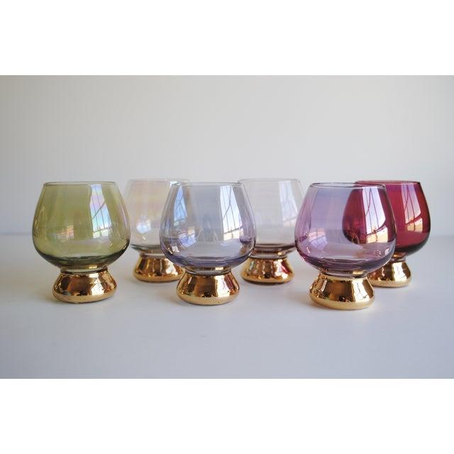 Vintage Cocktail Glasses, Set of 6 - Image 2 of 6